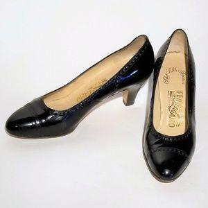 Ferragamo - Saks Fifth Avenue Vintage Heels Size 8